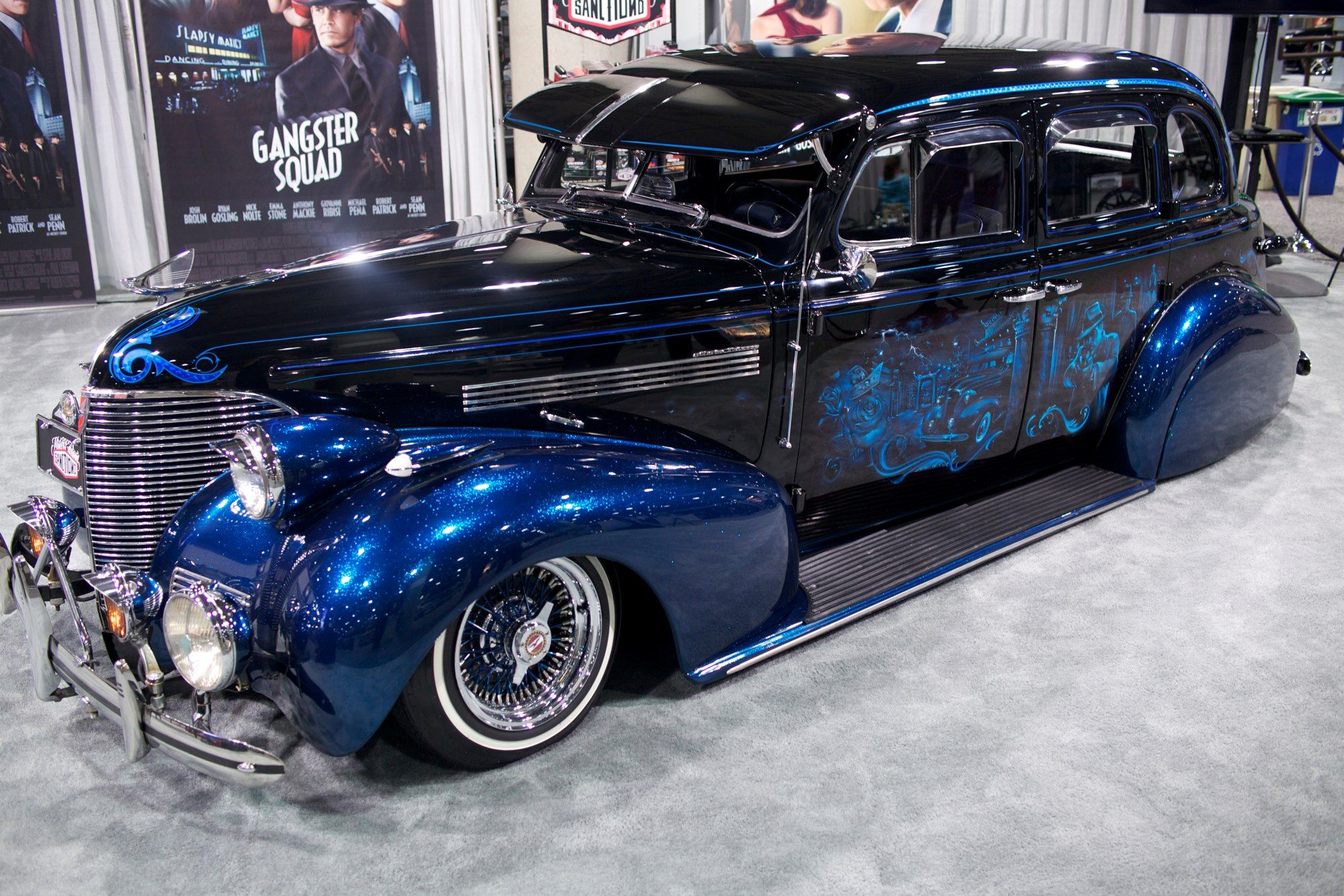 Los Angeles Car Show Gangster Squad Opens In Theaters