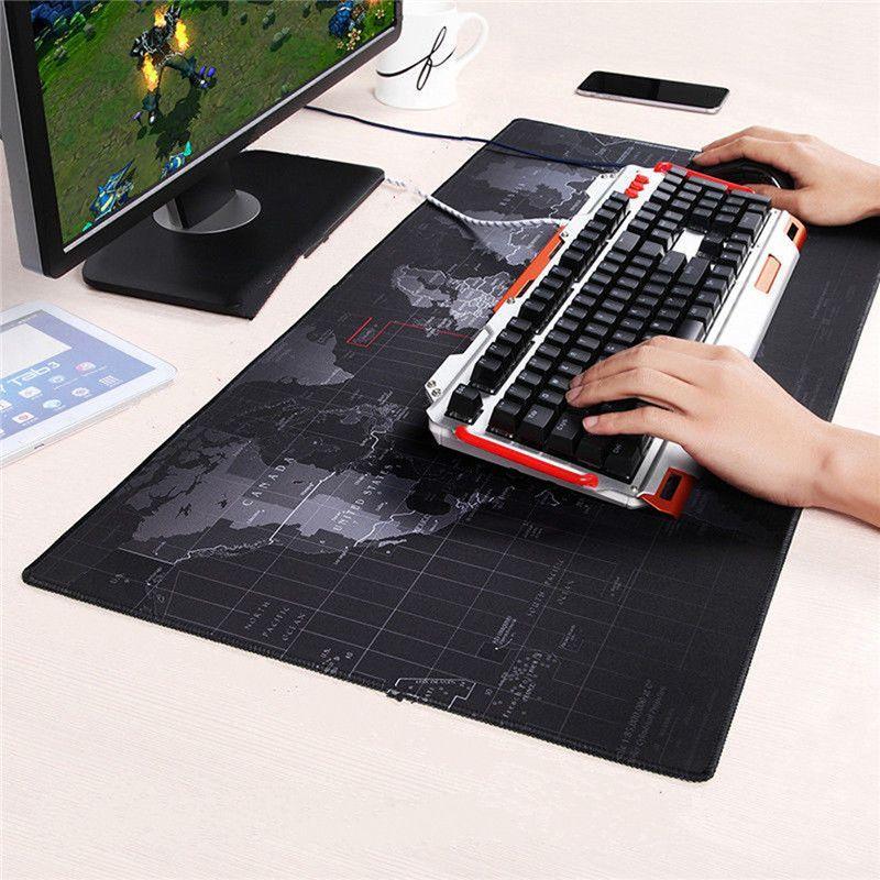 world map mouse pad large size speed keyboard mat computer gaming rh pinterest co uk