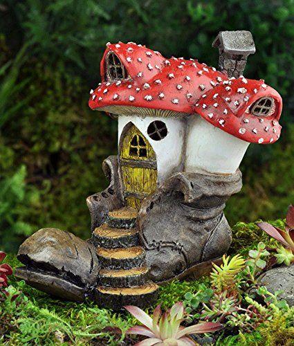 georgetown home and garden fiddlhead fairy old clodhopper mushroom rh pinterest com