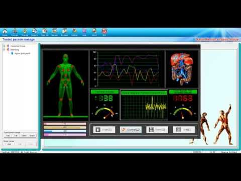 Diagnosis and Therapy Computer System MEDICOMAT-29 - Quantum Magnetic Resonance Body Analyzer - Using the quantum medicine as the theoretical basis, it appli...