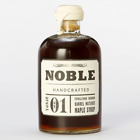 Bourbon Barrel Maple Syrup by Noble