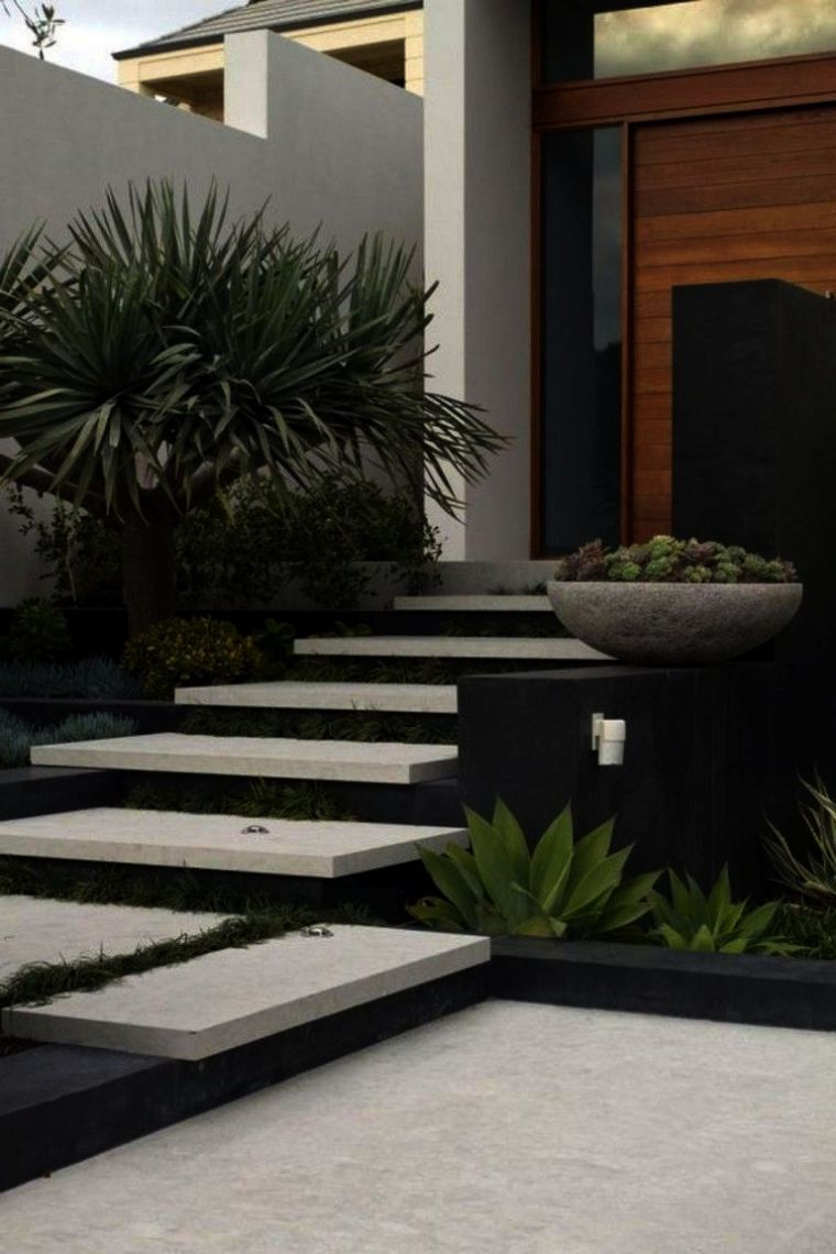 Landscape Gardening Courses Newcastle Landscape Gardening Forum And Landscape Gardening Design Followi Modern Front Yard Front Yard Design Front Garden Design
