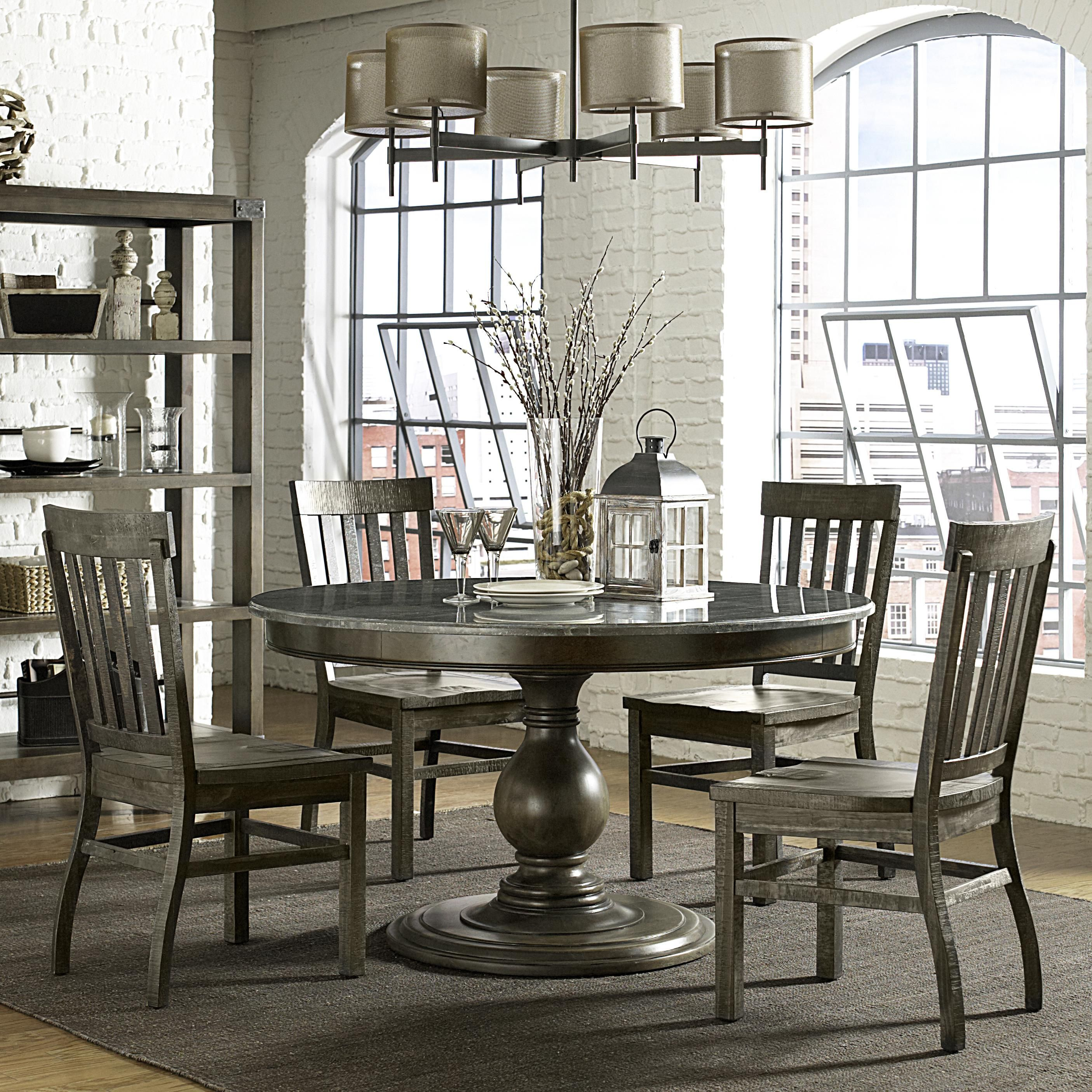 karlin 5 piece table and chair set by magnussen home kitchen rh in pinterest com
