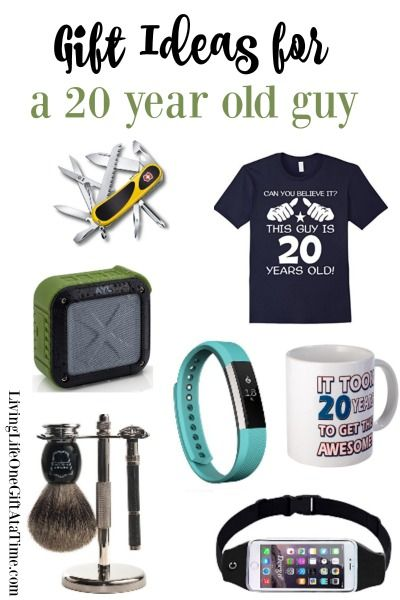 Gift Ideas For A 20 Year Old Man These Gifts Are Sure To Please Any Young Guy Gifts For Young Men Christmas Gifts For Boys 20 Years Old