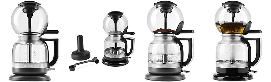 Kitchenaid kcm0812ob siphon coffee brewer with images