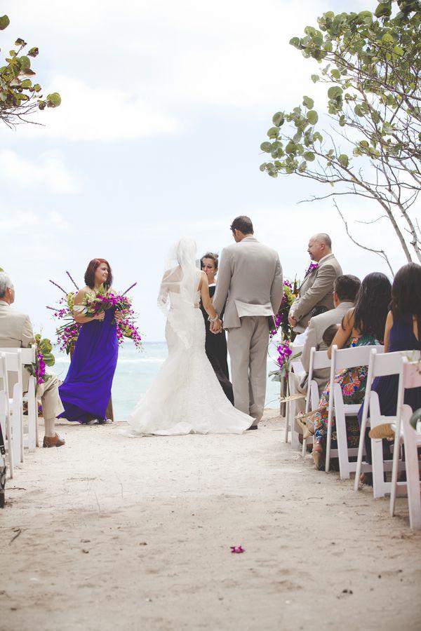 small beach wedding ceremony ideas%0A Jupiter Beach Resort Wedding by Lovely Bee Photography