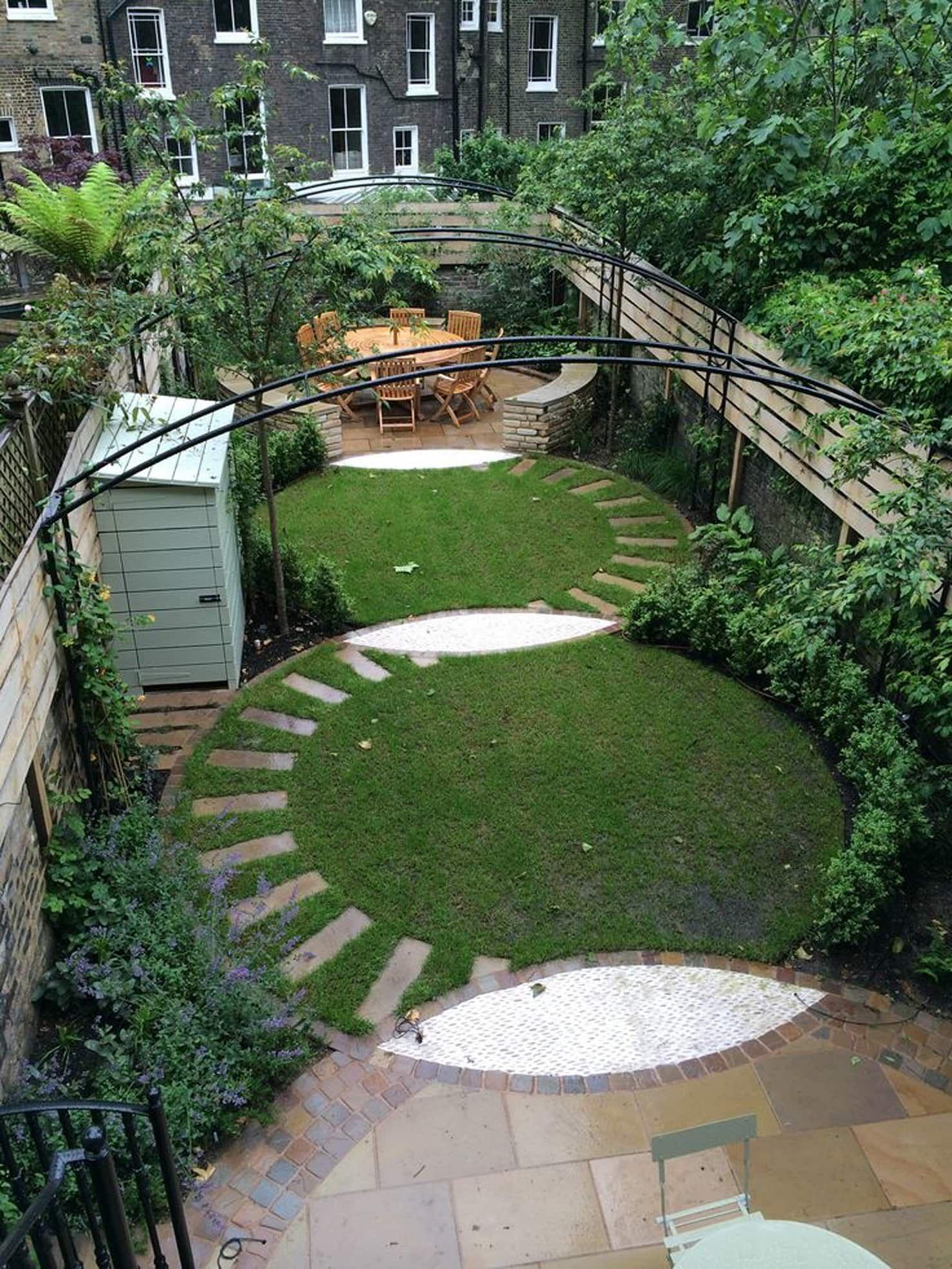Regent's park terrace classic style garden by aralia ...
