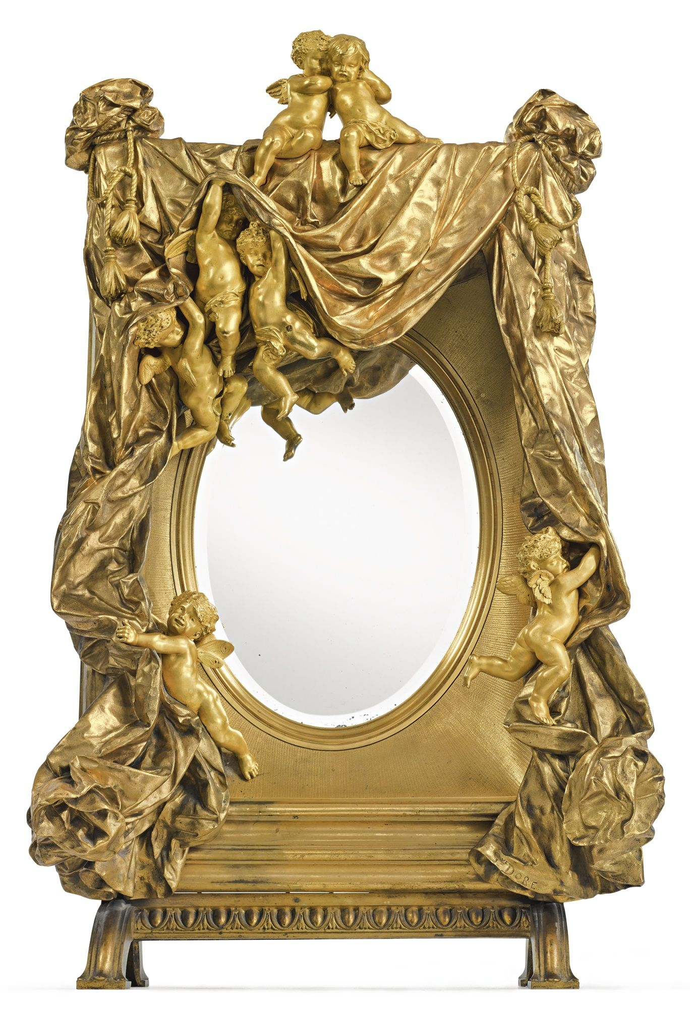 doré, gustave ||| mirror ||| sotheby\'s n09410lot8drkkes | Talla en ...