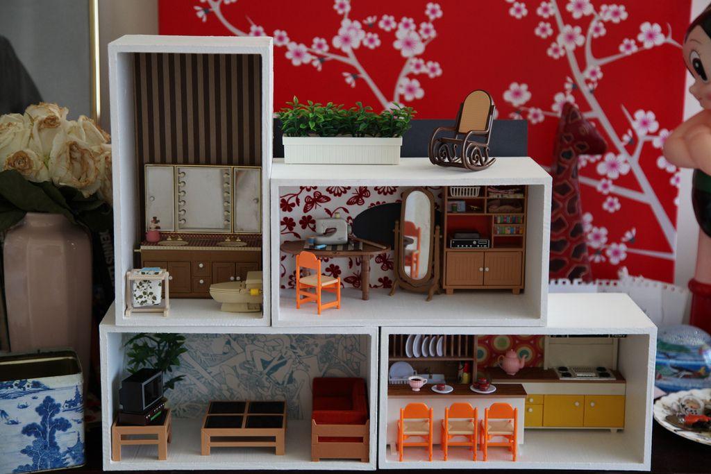 tissue box dollhouse Flickr Photo