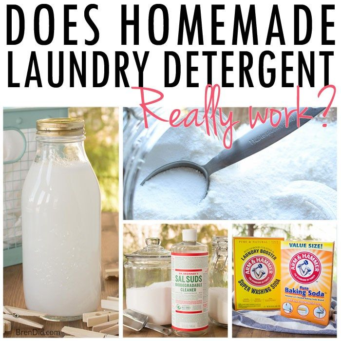 Do Homemade Laundry Detergents Really Work Diy Laundry
