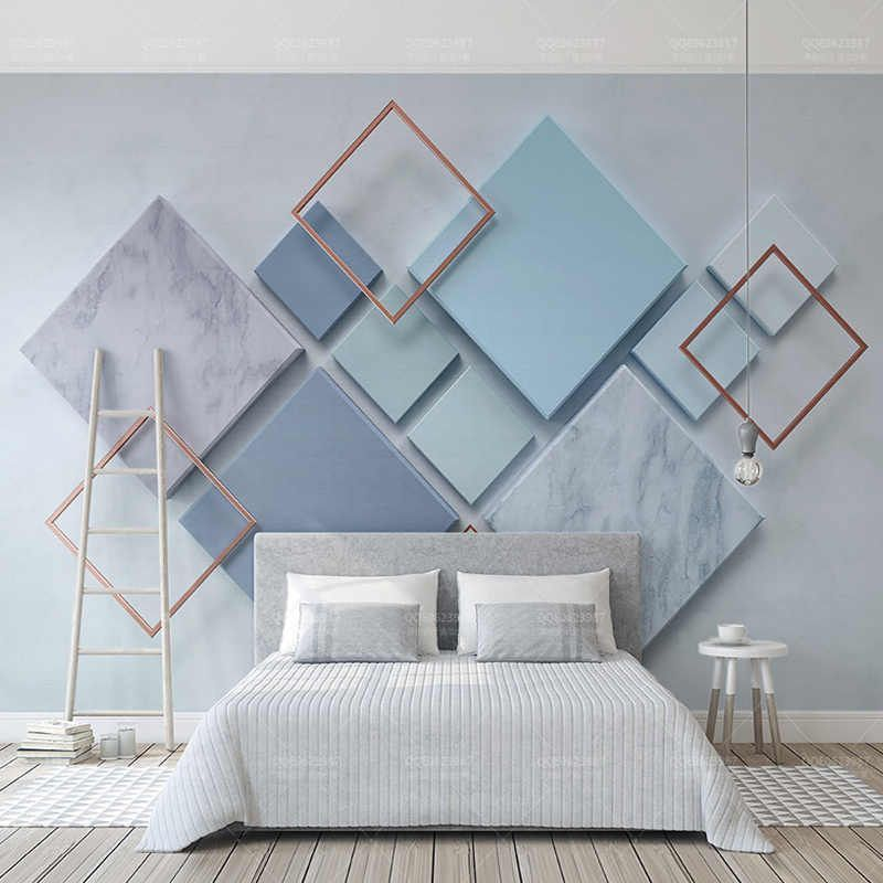 Custom Photo Wallpaper Modern Geometric Marble 3d Wall Murals Living Room Bedroom Ba In 2020 Innenarchitektur Schlafzimmer Schlafzimmer Design 3d Wandbilder Wohnzimmer