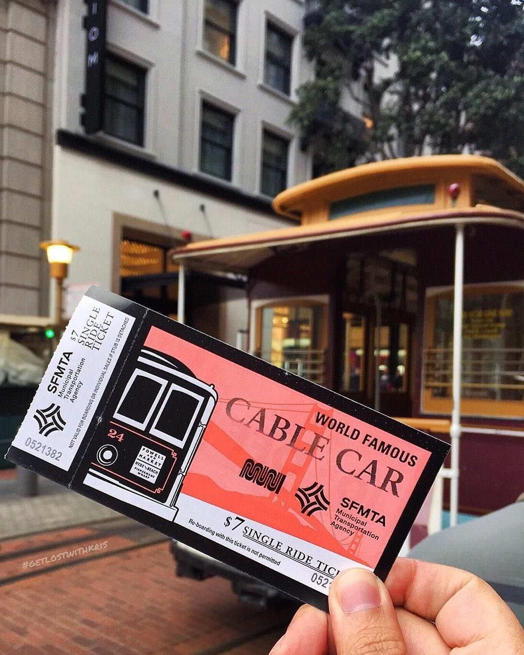 The San Francisco Cable Car is the