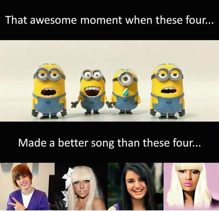 Admit it , they can sing better