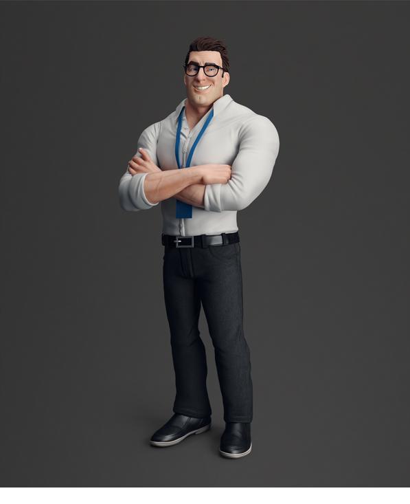 BRADOK   3D on Behance