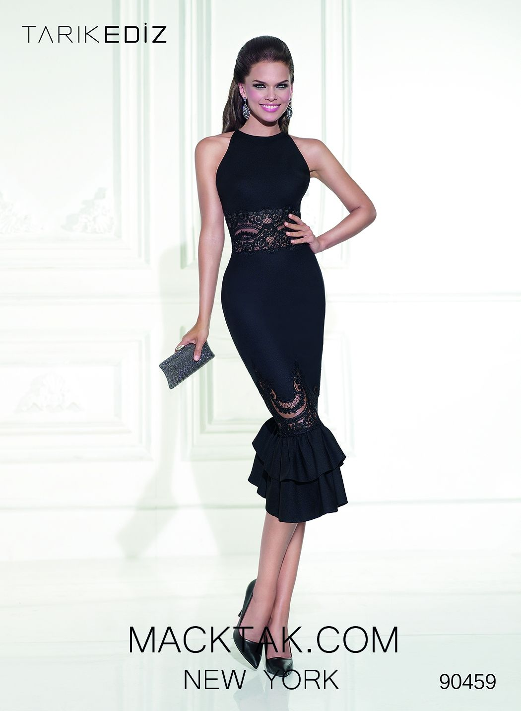Tarik Ediz 90459 City Black Dress | Formal Wear | Pinterest