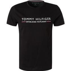 T-Shirts für Männer -  Tommy Hilfiger Herren T-Shirts, Bio-Baumwolle, Schwarz Tommy HilfigerTommy Hilfiger  - #CelebrityStyle #FashionDesigners #FashionTrends #für #manner #MenGrooming #RunwayFashion #shirts #StylingTips #TShirts
