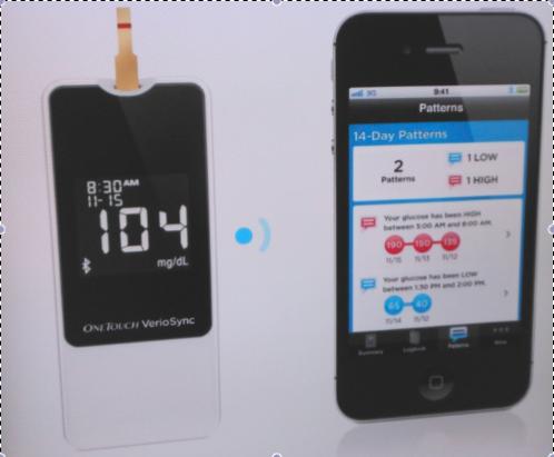 kit de diabetes lifescan para iphone