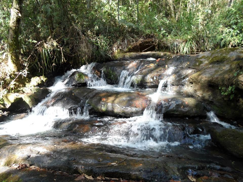 cachoeira em aguas da prata -S.P BRASIL