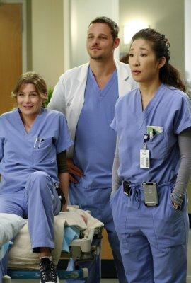 does alex and meredith hook up