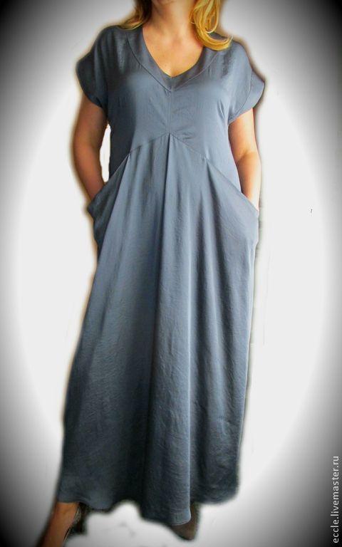 92e08d73ed7 Купить Платье Grey wave - шелковое платье