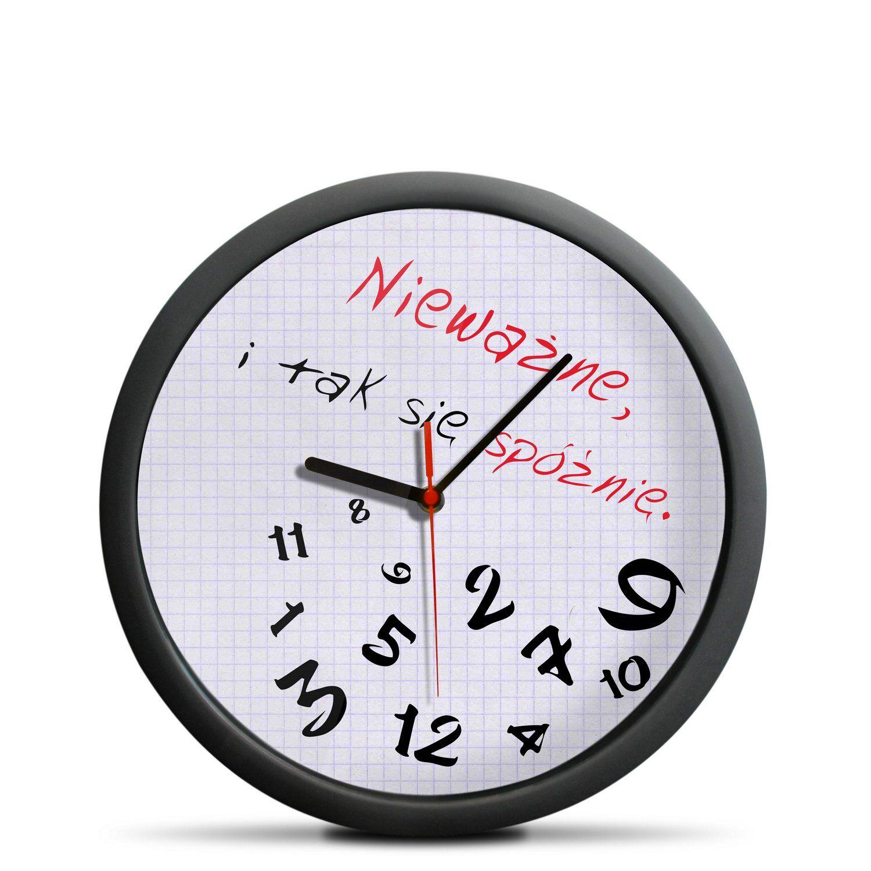 Zegar Dla Spoznialskich Zegar Zegar Scienny Pomysly Urodzinowe