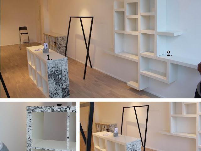ikea hack lack shelf wall display the entire wall unit would cost less than 200