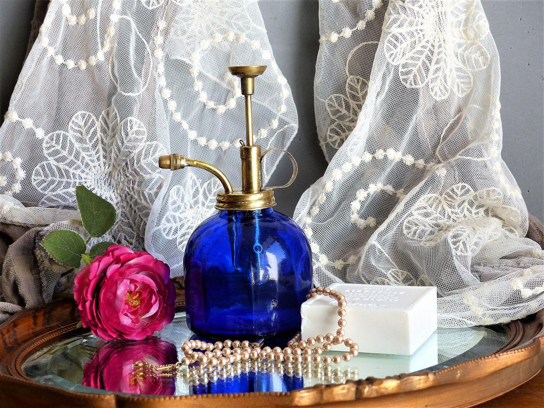 Glass Soap Dispenser Decorative Bathroom Soap Dispenser Water Spritzer Bottle Plant Mister