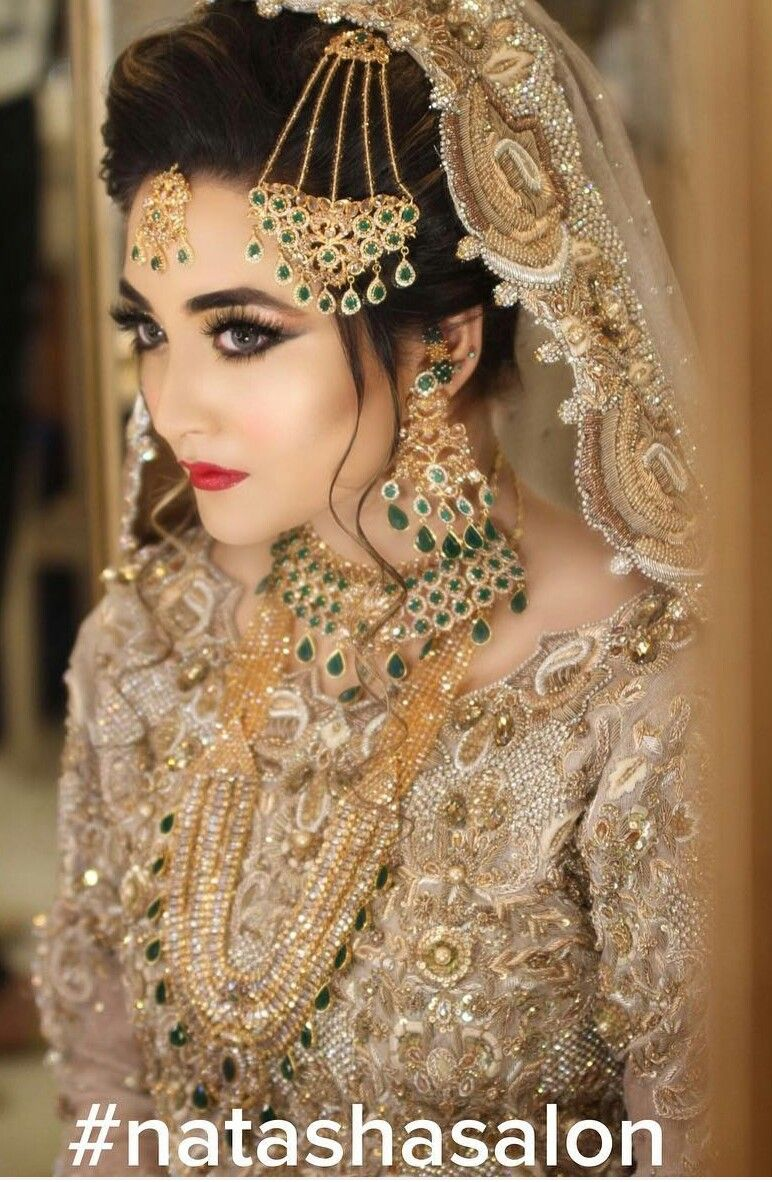 Pakistani bride Pakistani bridal makeup, Pakistani