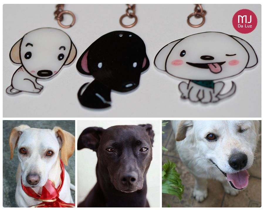 Custom made pet keychains, these are my inspirations.  www.fb.com/mjdaluz.dg