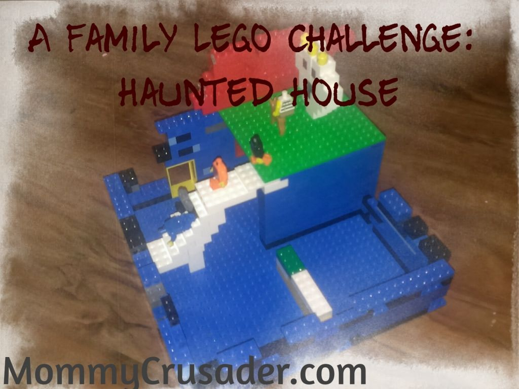 A Family Lego Challenge Haunted House