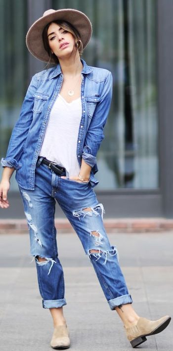 Denim Streetstyle Fall Outfits Today On Inspo Dulceida dqtpxd