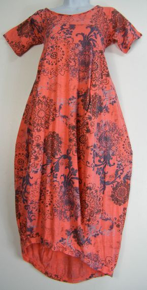NEW 95% VISCOSE LAGENLOOK DRESS S/SLEEVE FRONT POCKETS 8 COLS ONESIZE FITS 12-18