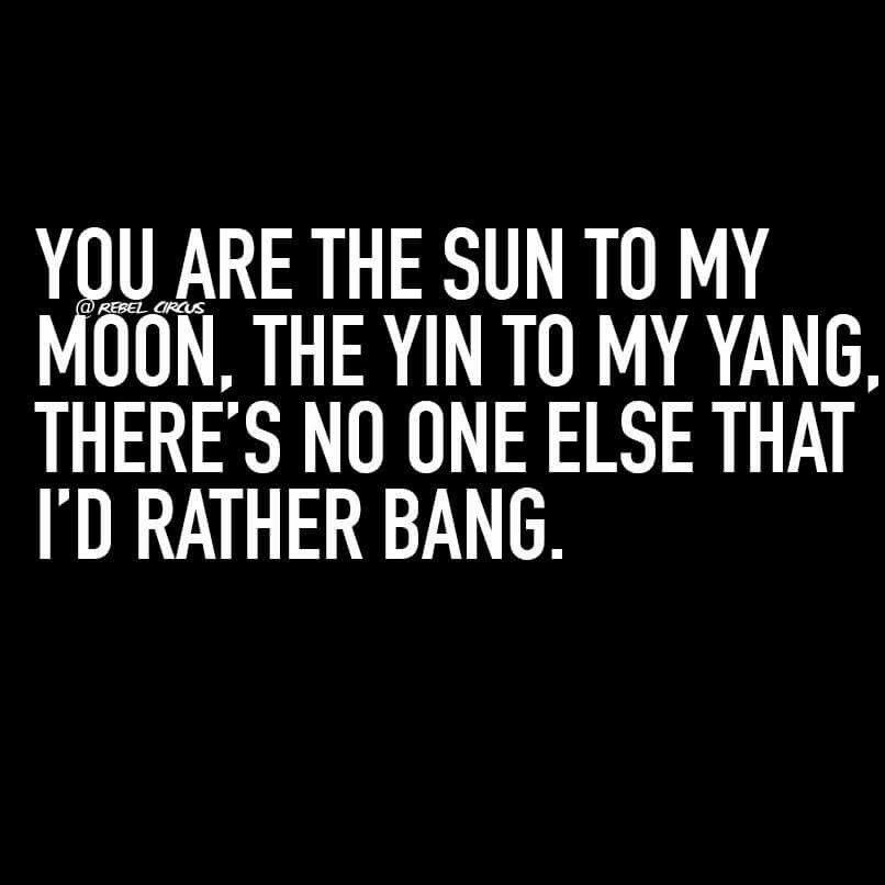 Original Yin To My Yang Love Quotes - Paulcong