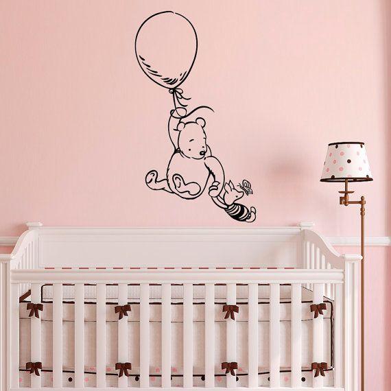 Winnie The Pooh Wall Decal Sticker Clic Nursery Decals Bear Piglet Nu