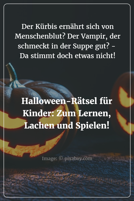 halloween r tsel f r kinder feste und feiern halloween halloween kindergeburtstag und. Black Bedroom Furniture Sets. Home Design Ideas