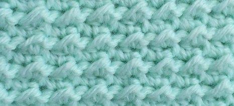 Minty Moss Afghan 2crochethooks