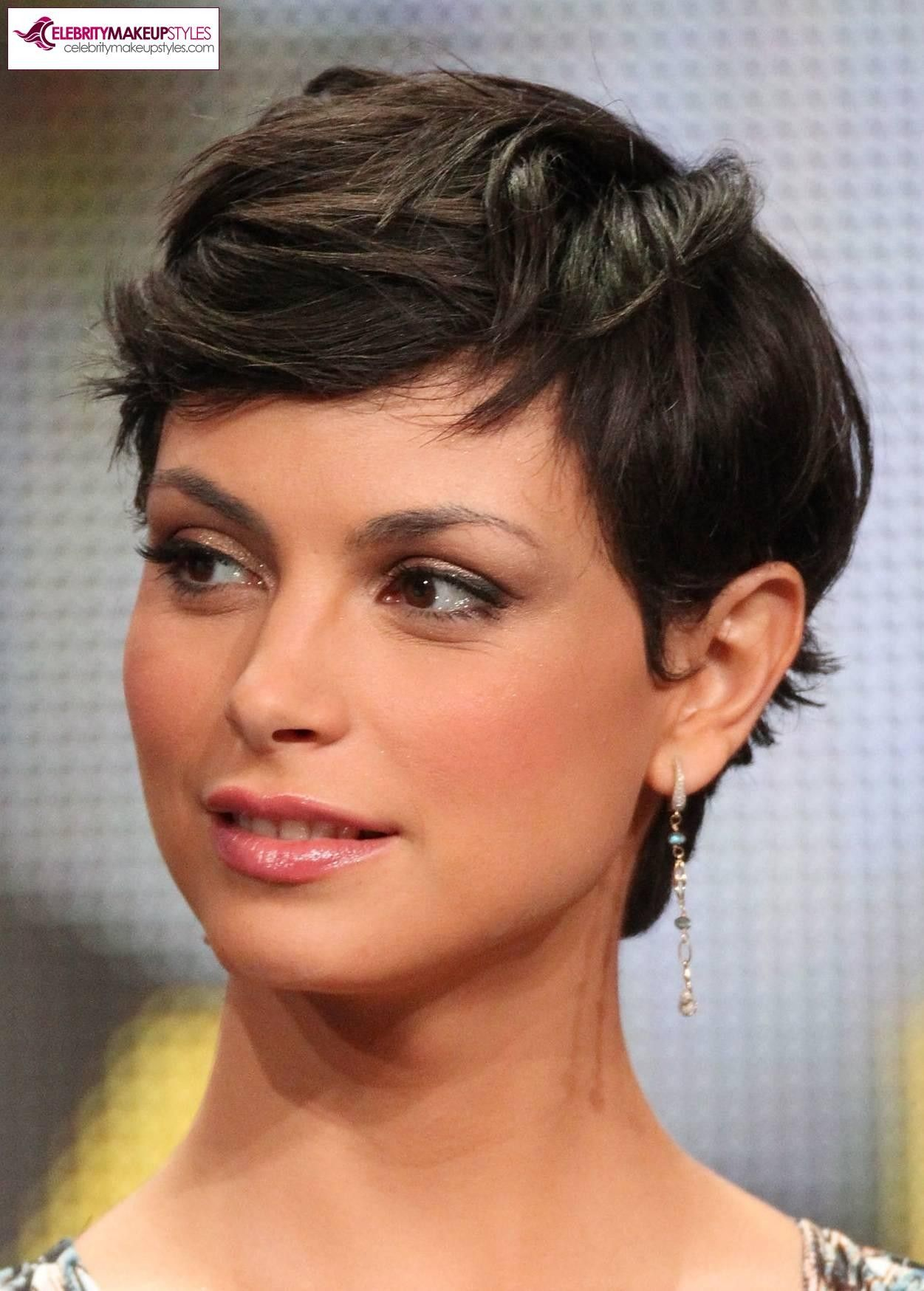 morena baccarin pixie hair - don't think i'll ever do a