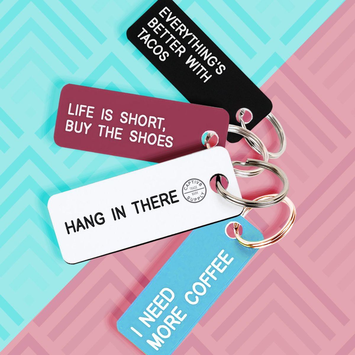 Trendalert Custom Key Tags Key Tags Custom Keychain Gifts For Family