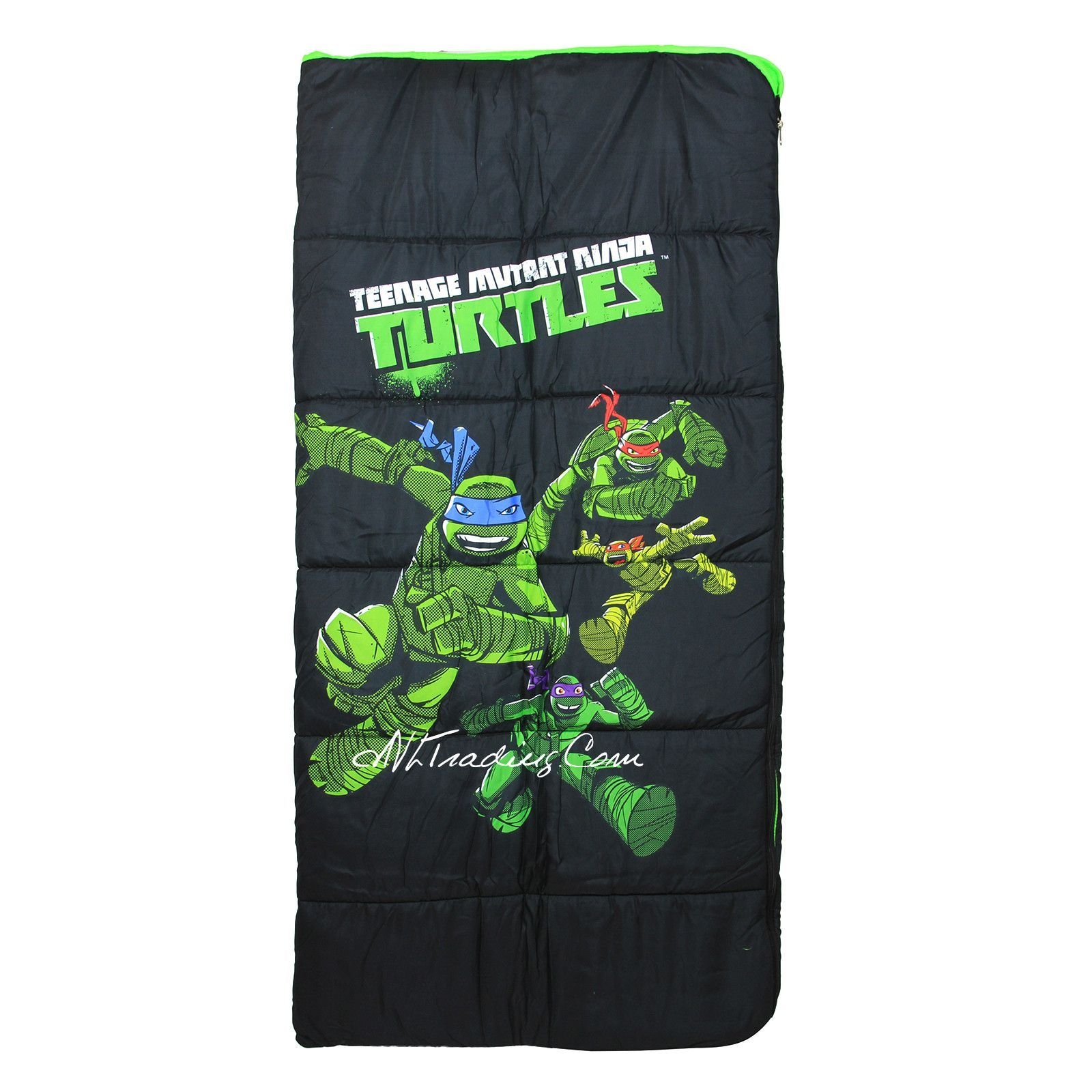Teenage Mutant Ninja Turtle Tmnt Youth Sleeping Bag Full