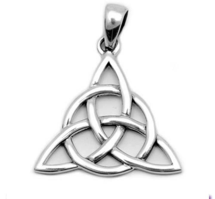 символ треугольник и трилистник фото очень часто подобного
