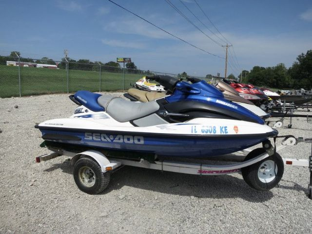2000 sea doo gtx di 2 3 passenger seated blue white 212 hours for sale in jefferson city mo. Black Bedroom Furniture Sets. Home Design Ideas