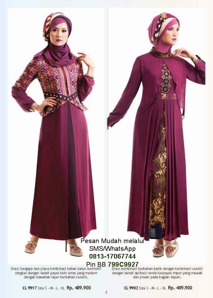 Model Baju Muslim Gamis Modern Cantik Berbaju Muslim Muslim