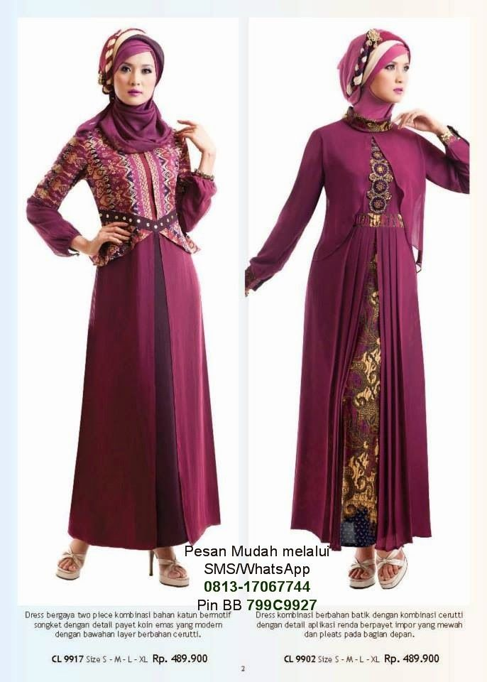 Model Baju Muslim Gamis Modern  483ca36c25
