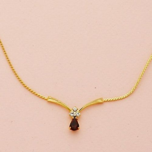 Simple gold diamond necklace vubqxt earrings pinterest simple gold diamond necklace vubqxt aloadofball Image collections