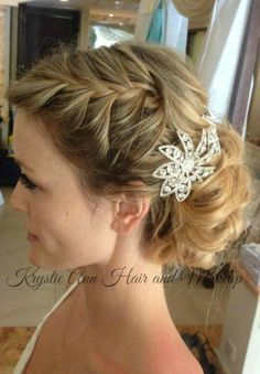 wedding updos with braids - Google Search | Hair & Make-up ...