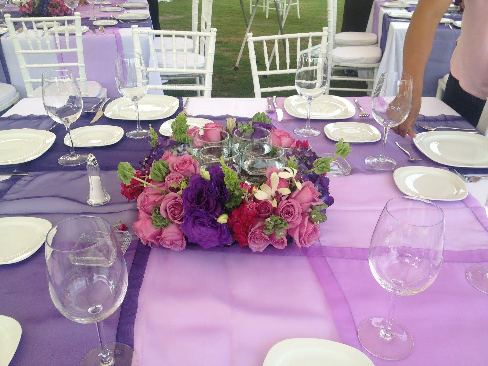 La casa de Alejandra Martes de bodas Boda en morado y lila