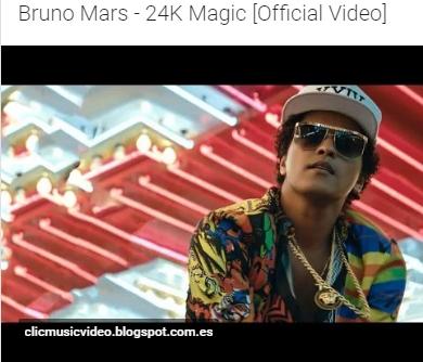 Pin By Clicmusicvideo On Clicmusicvideo Bruno Mars Latest Music Videos Magic Video