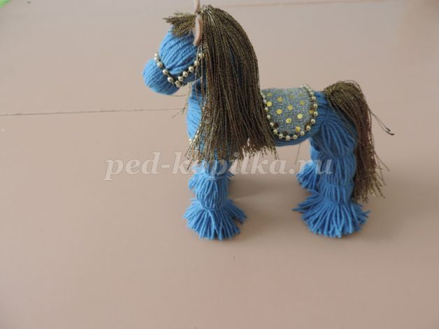Photo of Thread horse. Master class with step by step …