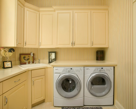 Corner Sink Laundry Modern Laundry Rooms Laundry Room