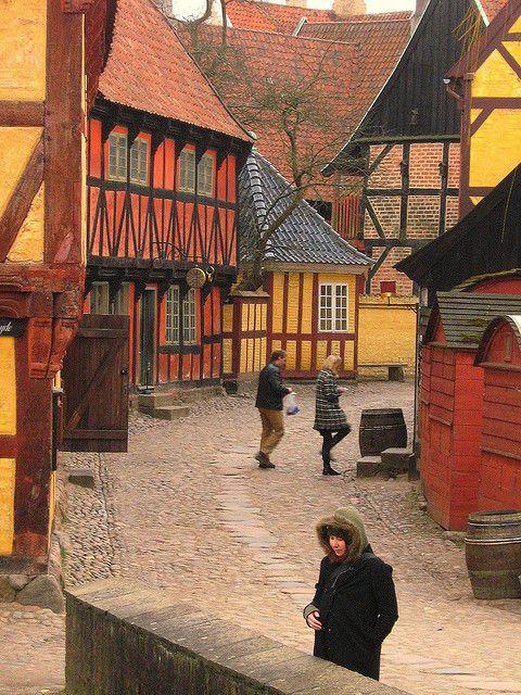 Aarhus Den Gamle By Outdoor Museum Med Billeder Rejser Danmark Aarhus